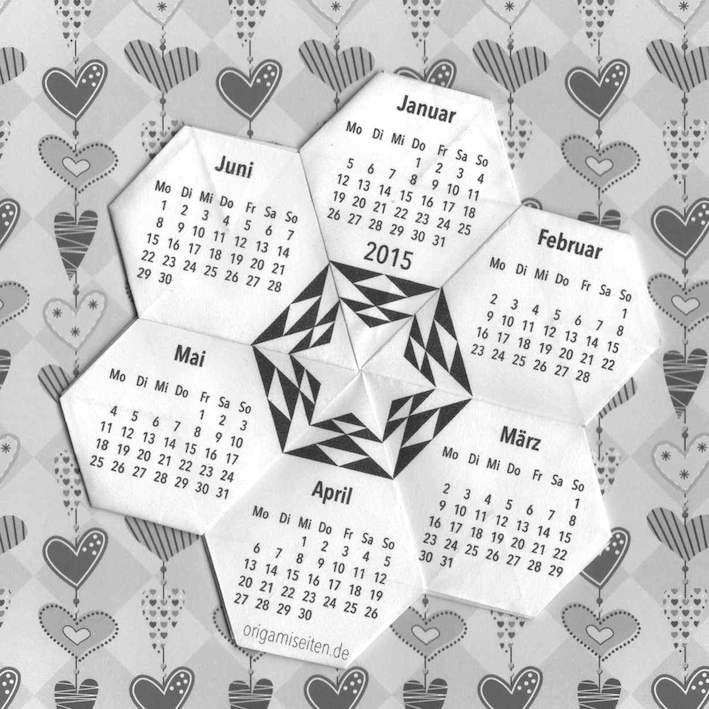 Modelli Calendario 2019.Cdo Calendari Origami